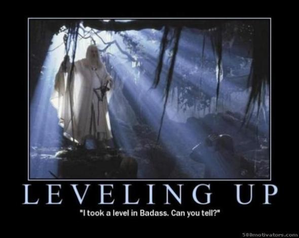 Yes, it's a nerdy Lord of the Rings reference.  I know you get it.  Just admit it.