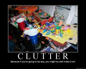 These clutter pictures are making me anxious.  I think I need to go wash some dishes...