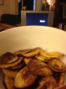 Mmmm... TV snacks!